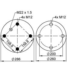 VIBRACOUSTIC V1D28B-2 фото 2
