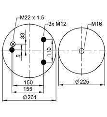 VIBRACOUSTIC  V1DF25-12 фото 2